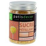 Sucre pétillant nature 70 gr - Patisdecor
