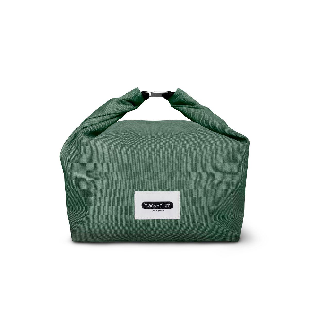 Sac à lunch box verte en plastique recyclée - Black & Blum