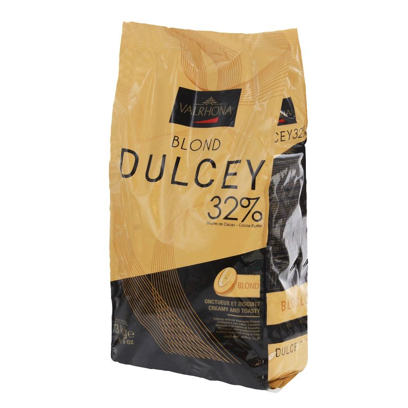 Chocolat Dulcey à pâtisser Valrhona 32% 3kg vrac - Mère