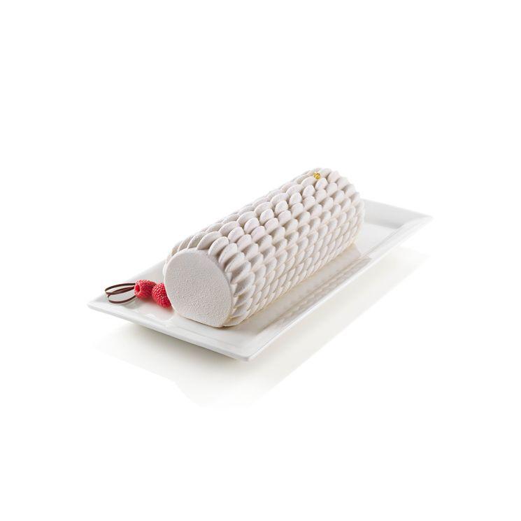 Moule en silicone bûche Quenelle 24,5 cm - Silikomart