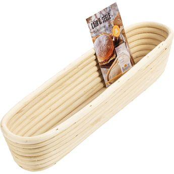 Achat en ligne Banneton pour baguette en osier 8,5 x 37 cm - Birkmann