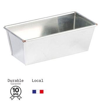 Achat en ligne Moule à cake en fer blanc 6/7 parts 18 cm - Alice Délice