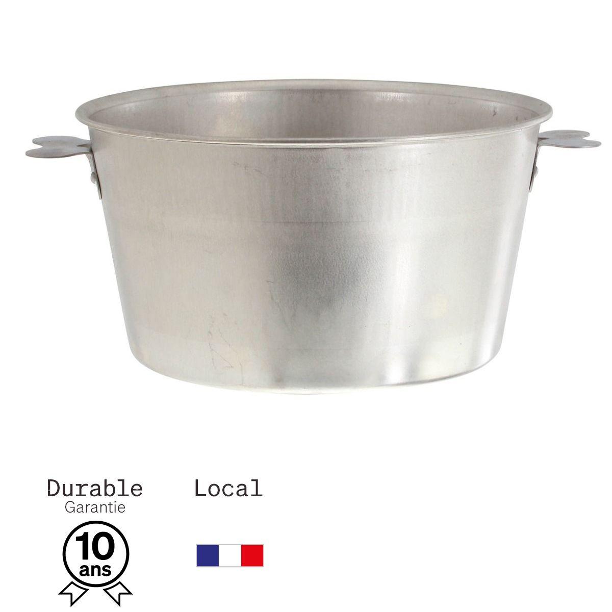 Moule à charlotte en fer blanc 4/6 parts 18 cm - Alice Délice