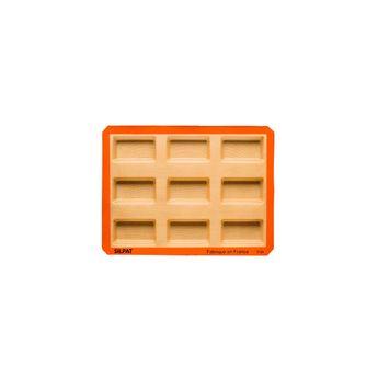 Achat en ligne Moule 9 mini cakes en silicone et fibre de verre 40 x 30 cm - Silpat
