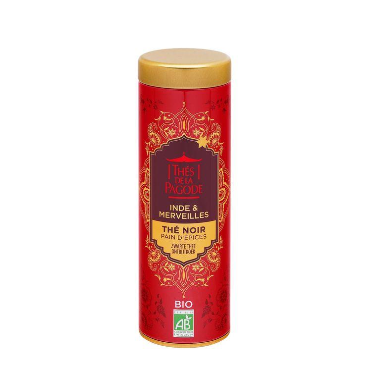 Thé noir pain d'épices tube métal 85g édition Inde&merveilles - Thés de la Pagode