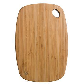Achat en ligne Planche à découper en bambou qui passe au lave vaisselle 27 x 18.4 cm - Totaly bamboo