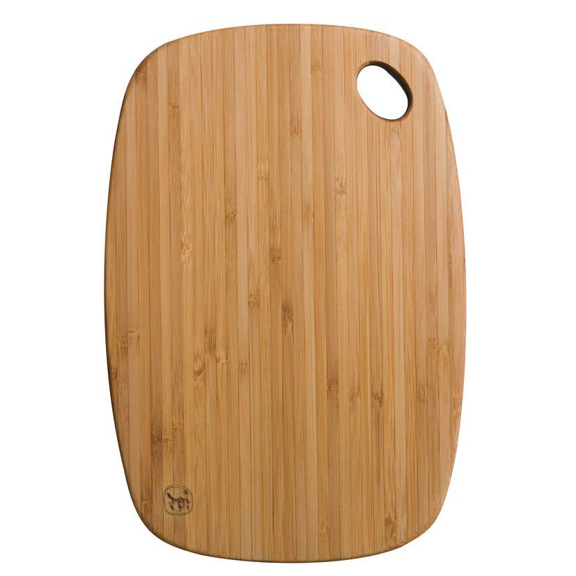 Planche à découper en bambou qui passe au lave vaisselle 27 x 18.4 cm - Totaly bamboo