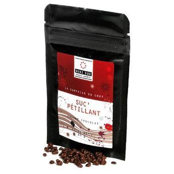 Sachet sucre pétillant chocolat 35g - Quai Sud