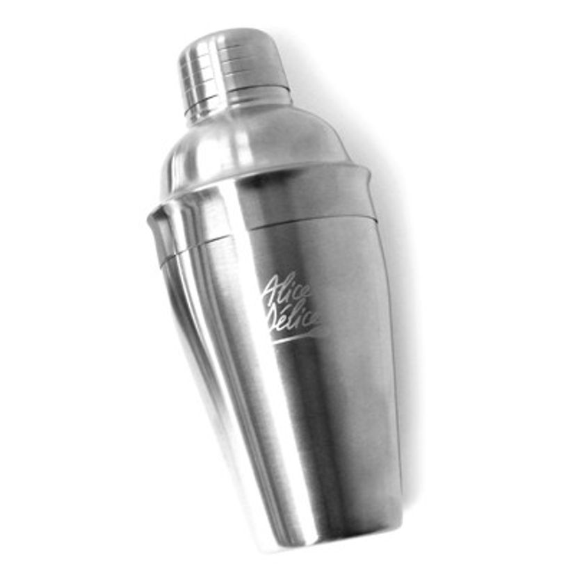 Shaker à cocktail 700ml en inox brossé