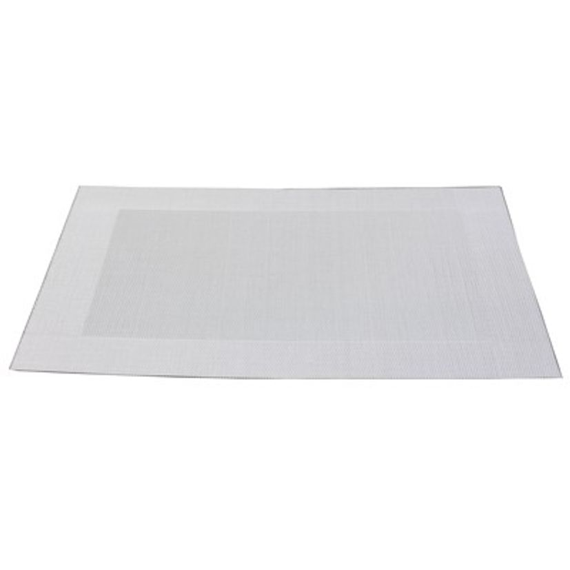 SET TABLE PLASTIQUE BLANC - ASA