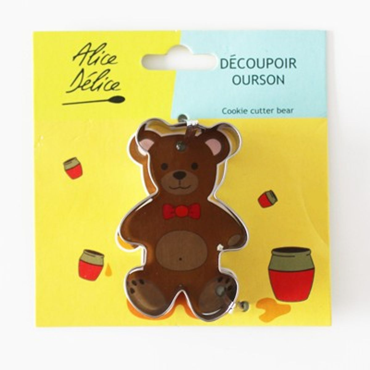 DECOUPOIR INOX OURSON - ALICE DELICE