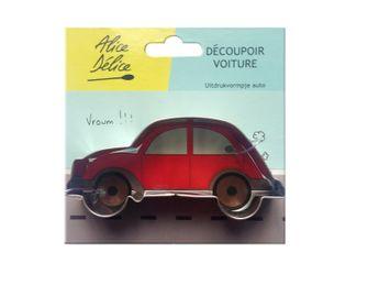 Achat en ligne Découpoir inox voiture - Alice Délice