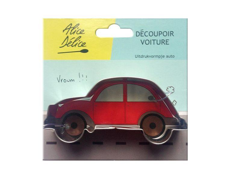 Découpoir inox voiture - Alice Délice