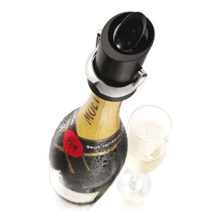 Bouchon champagne noir - Vacu Vin