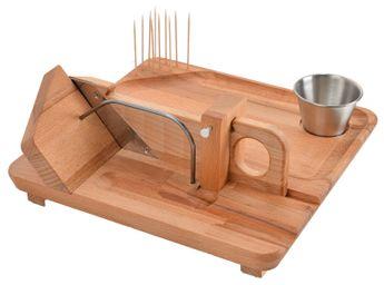 Achat en ligne Guillotine saucisson avec planche - So Apéro