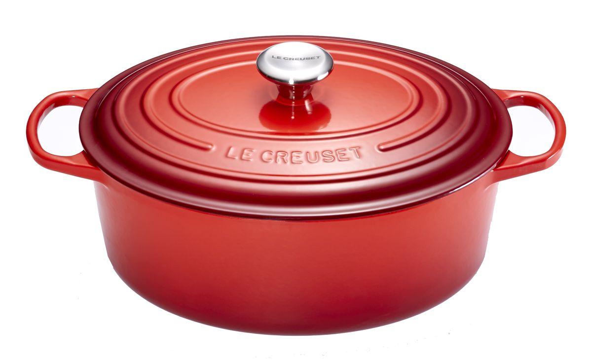 Cocotte ovale cerise 4.7L - Le Creuset