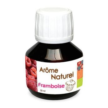 AROME NATUREL DE FRAMBOISE 50ML - SCRAPCOOKING