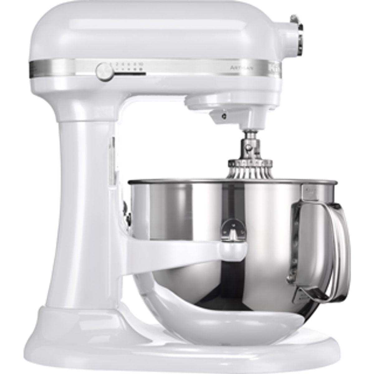 Robot Artisan  6.9 l blanc givré 5ksm7580x - Kitchenaid